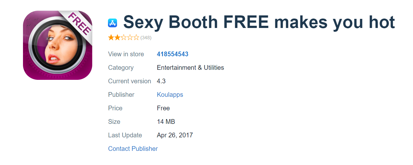 Sexy Booth FREE
