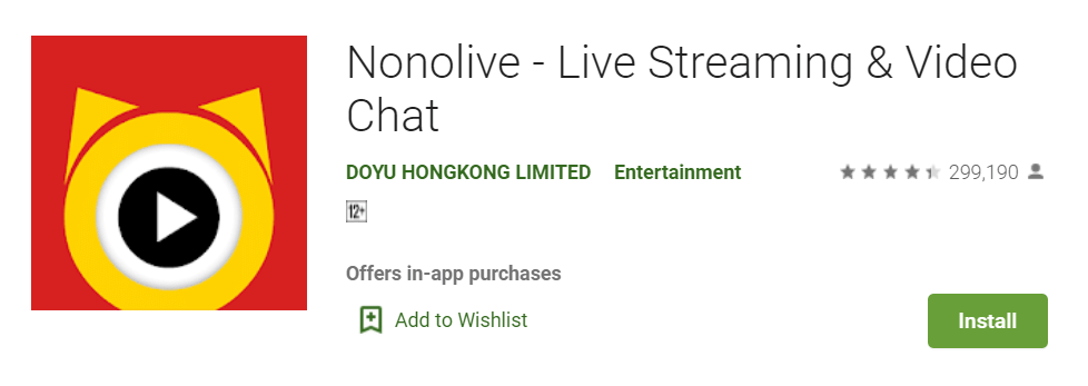 Nonolive Live Streaming Video Chat