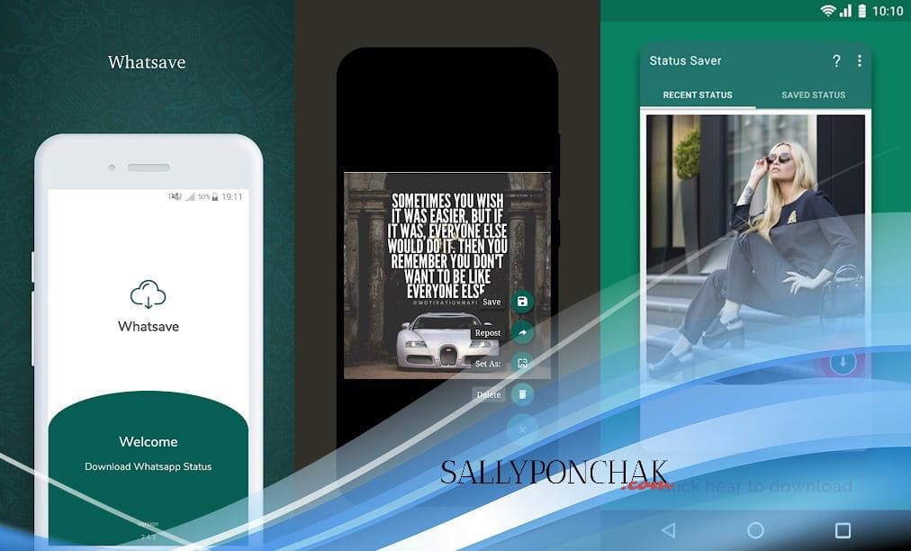 Aplikasi download story WhatsApp buat save story teman