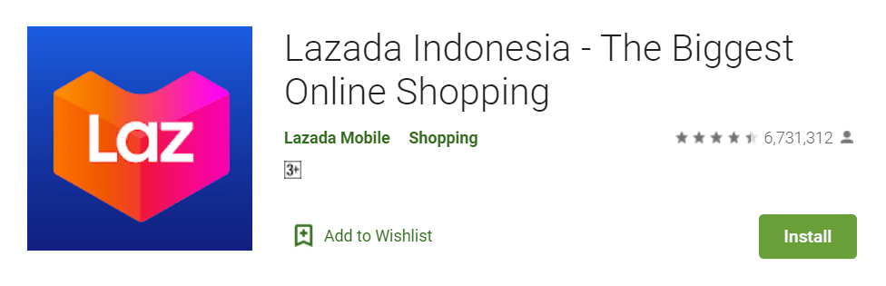 Lazada Indonesia The Biggest Online Shopping
