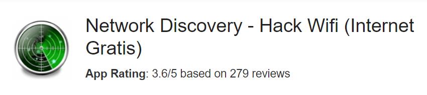Network Discovery Hack Wifi Internet Gratis