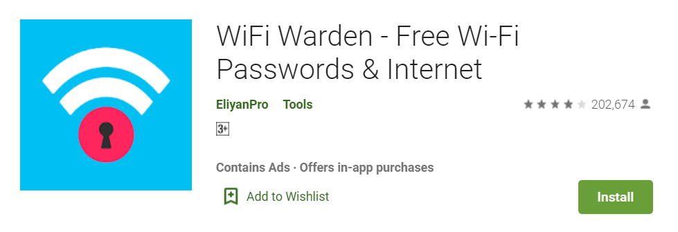 WiFi Warden Free Wi Fi Passwords Internet