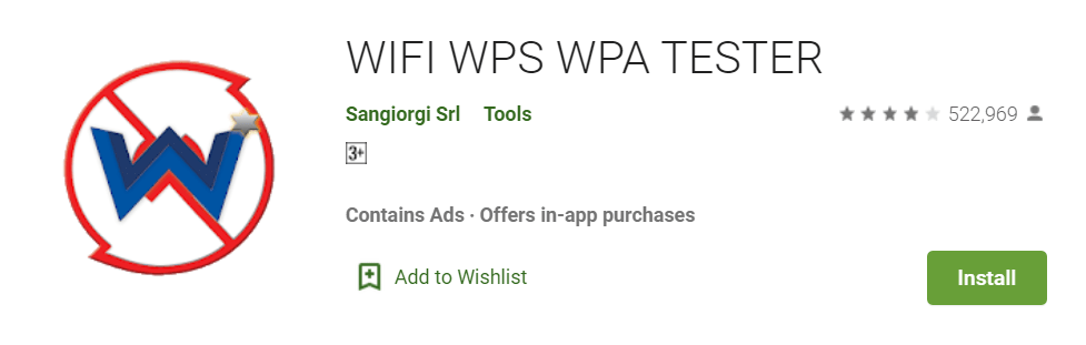 Wifi WPS Test Master