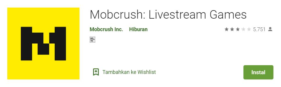 Mobcrush Livestream Games