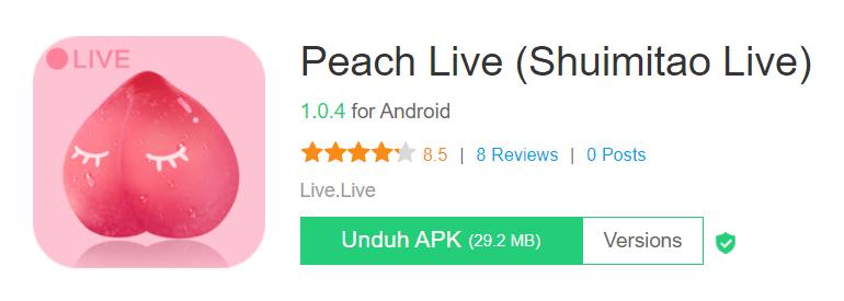 Peach Live Shuimitao Live