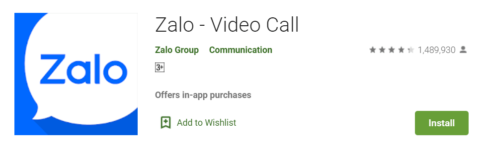 Zalo Video Call