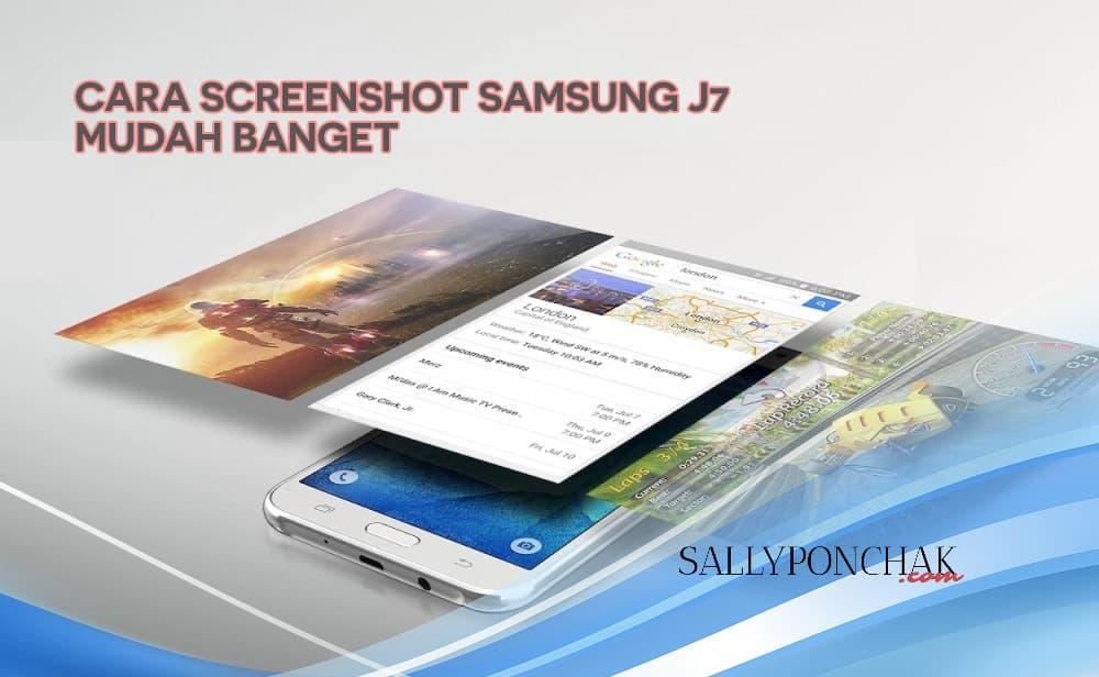 Cara screenshot Samsung J7