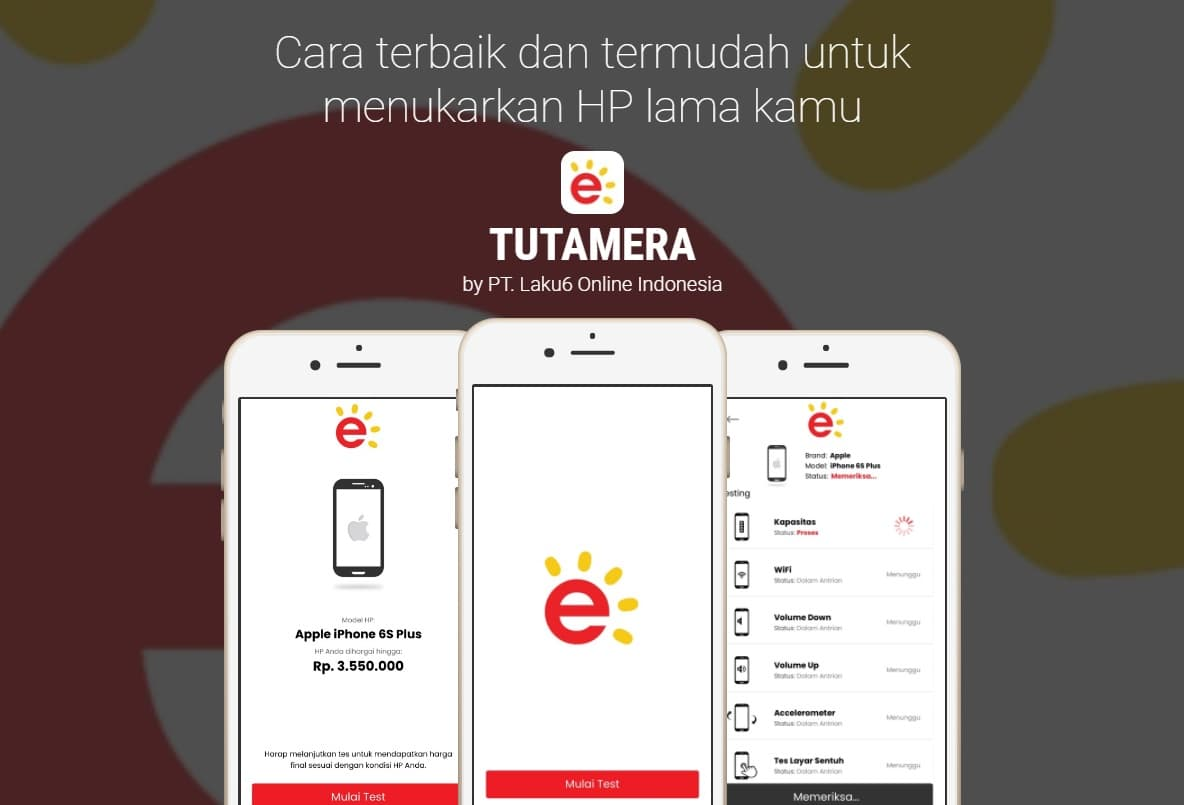 Apk tukar tambah hp iPhone