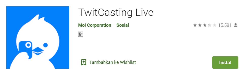 TwitCasting Live apk
