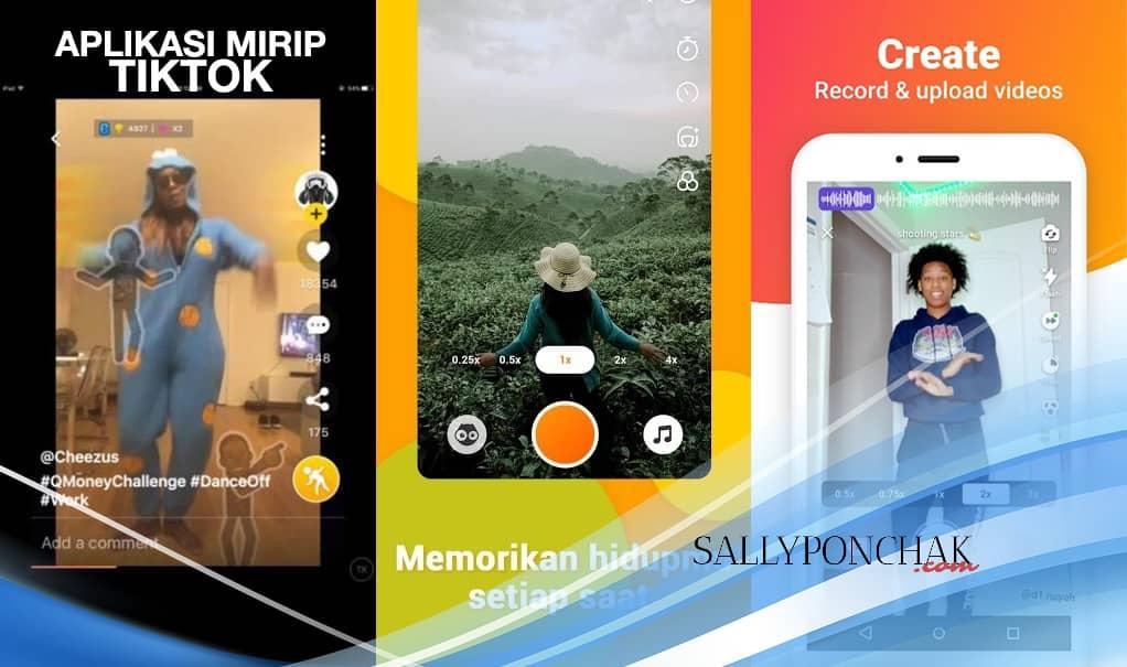 Aplikasi mirip TikTok