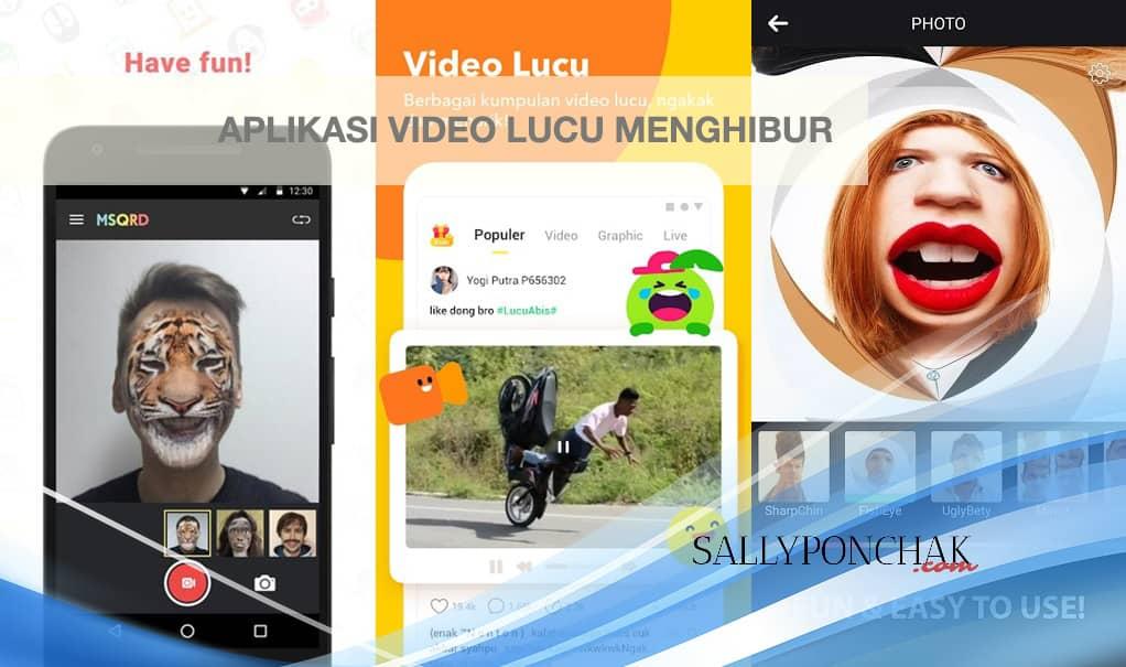 Aplikasi video lucu