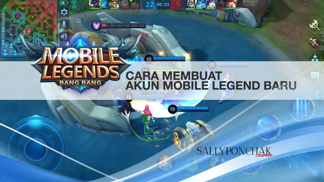 Cara membuat akun Mobile Legend baru