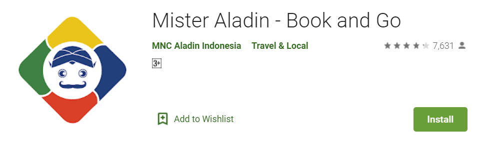Mister Aladin Book and Go