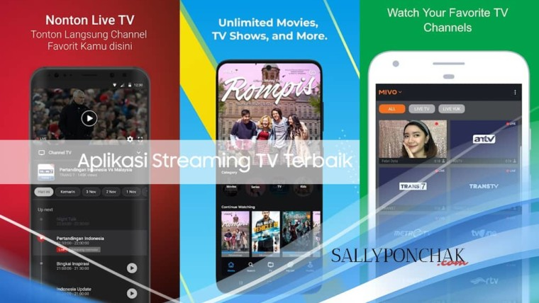 Aplikasi streaming TV