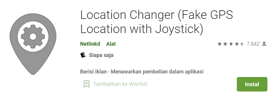 Location Changer Fake GPS Location with Joystick
