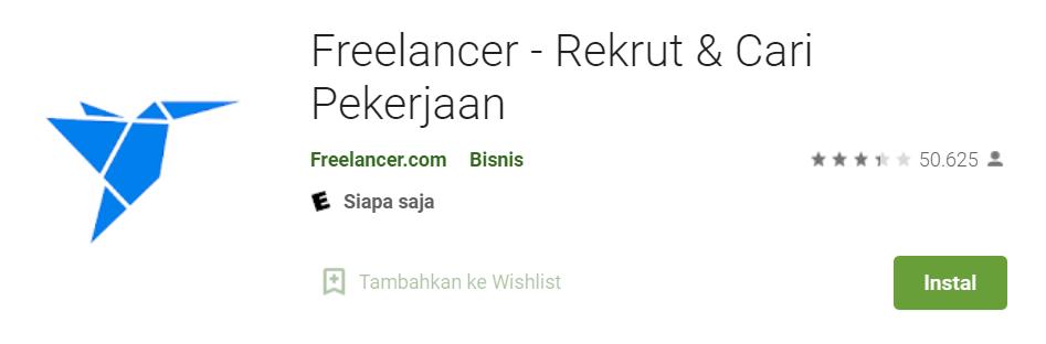 Aplikasi freelance Indonesia gratis