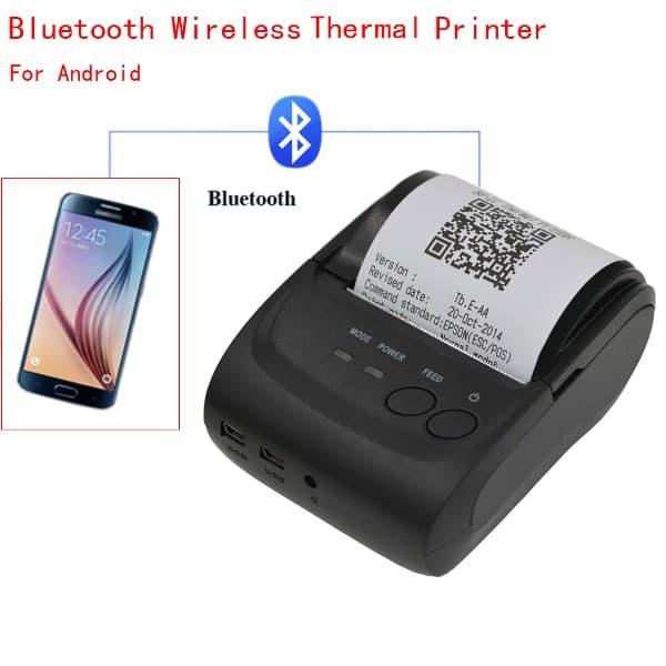 Cara menggunakan printer bluetooth dengan cepat